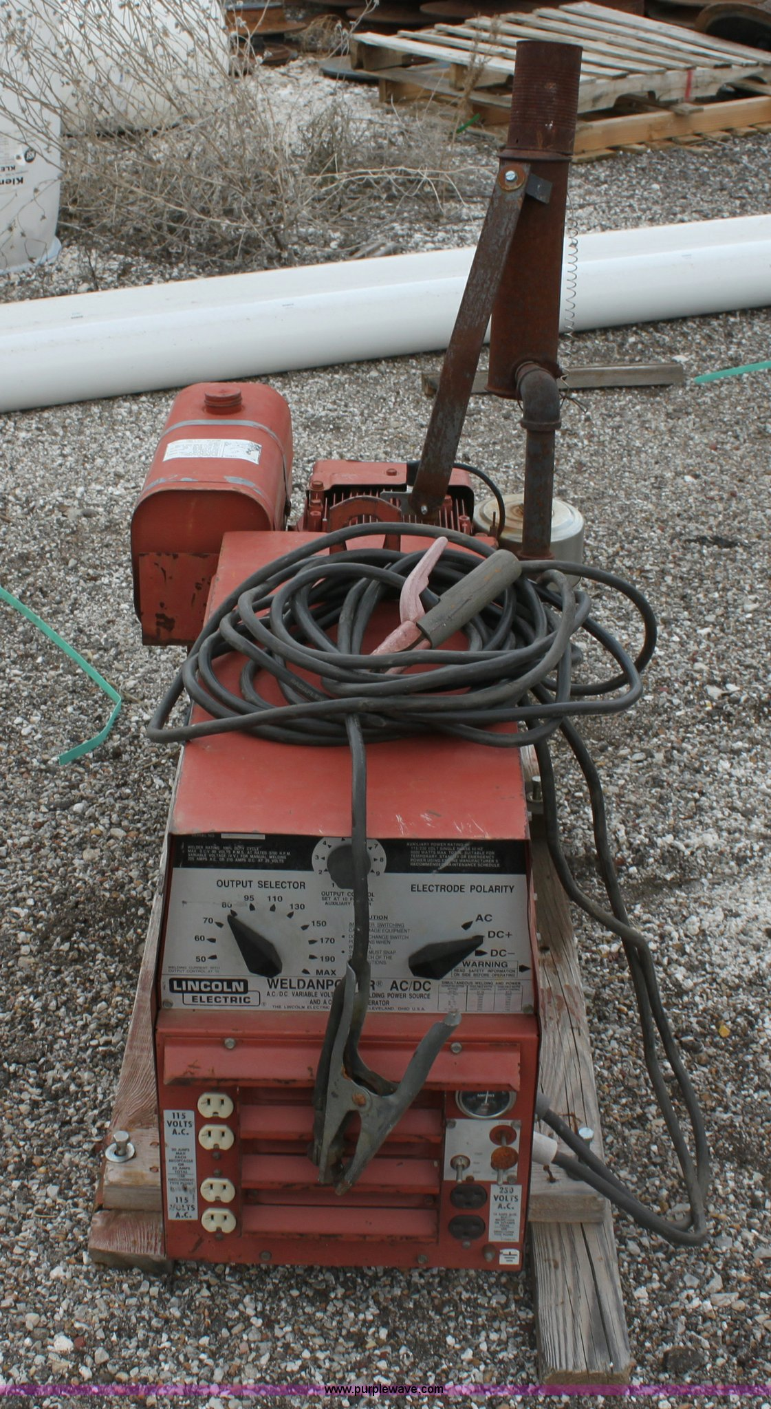 hight resolution of  lincoln 225 dc arc welder full size in new window