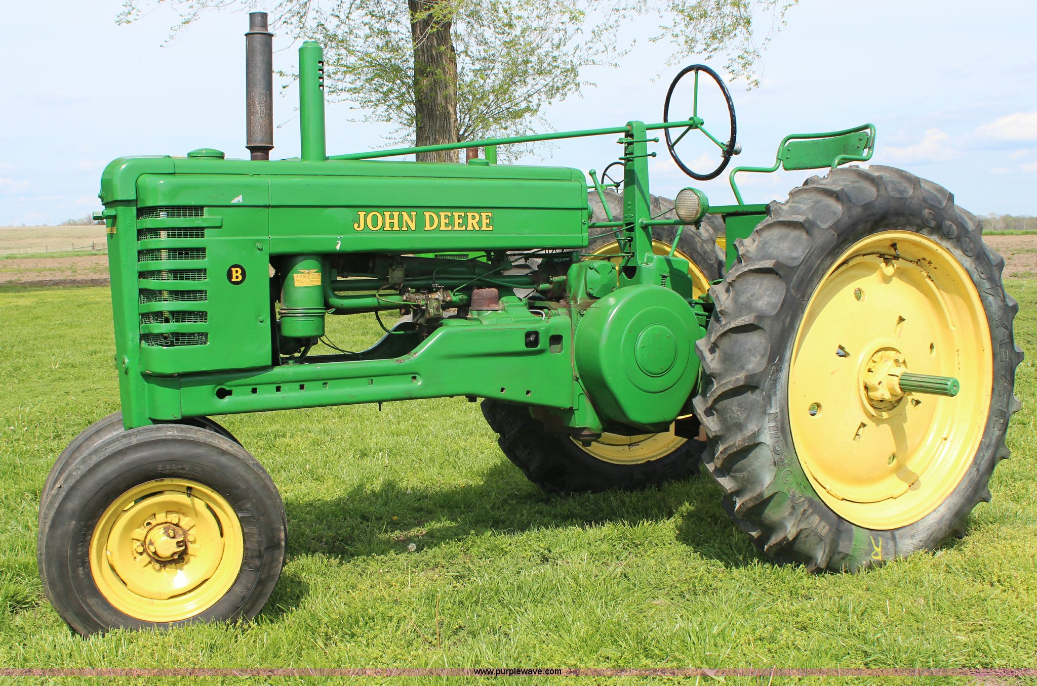 john deere g tractor for sale bt telephone extension box wiring diagram 1952 b item g5394 sold may 29