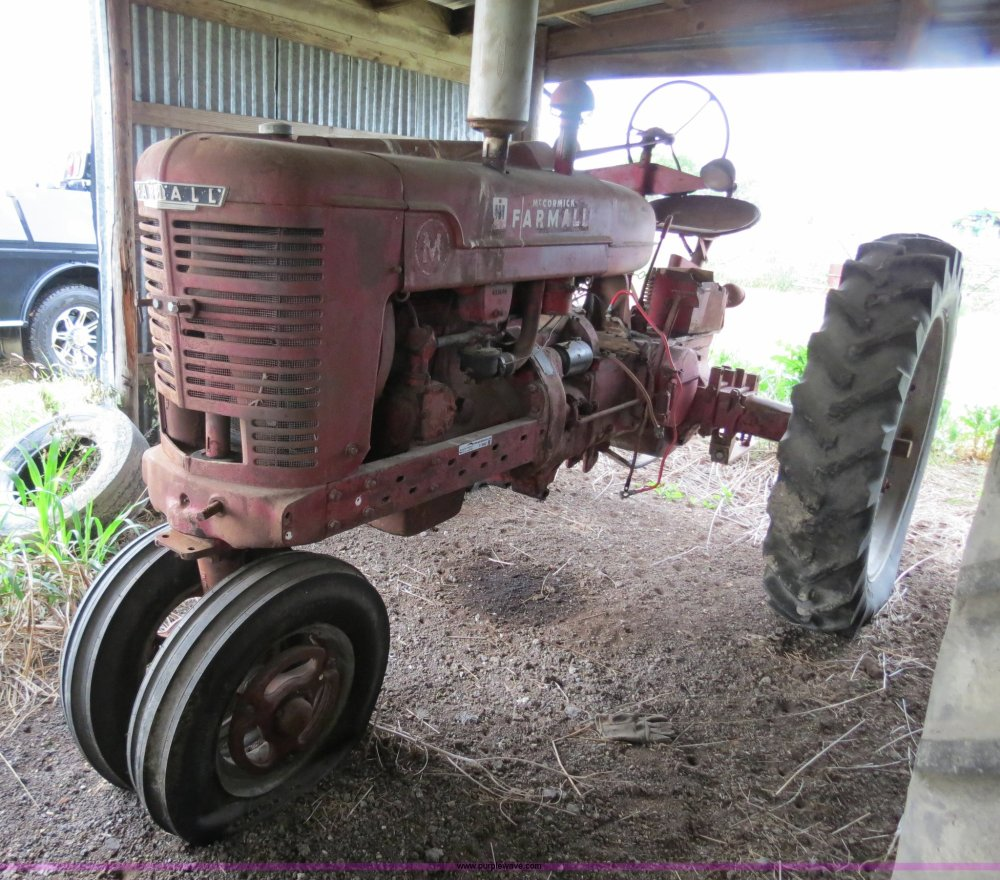 medium resolution of 1941 farmall m tractor for sale in texas