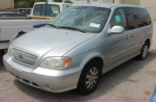 small resolution of h3567 image for item h3567 2004 kia sedona minivan