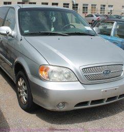 2004 kia sedona minivan full size in new window  [ 2048 x 1751 Pixel ]