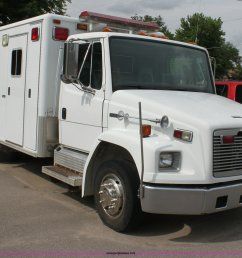 h7456 image for item h7456 1996 freightliner fl60 emergency vehicle [ 2048 x 1543 Pixel ]