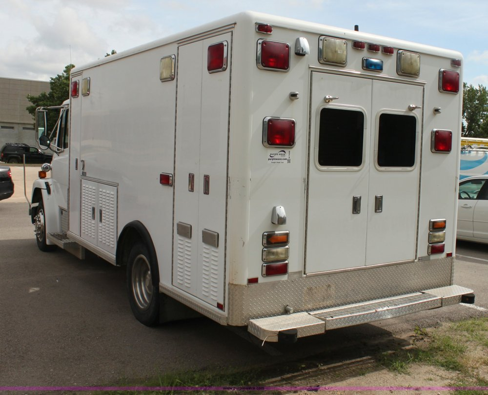 medium resolution of  freightliner fl60 emergency vehicle full size in new window