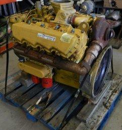 ac9487 image for item ac9487 caterpillar 3208 turbo diesel engine [ 1756 x 2048 Pixel ]