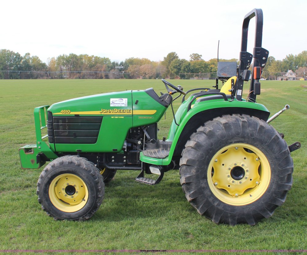 medium resolution of  john deere 4610 mfwd tractor full size in new window