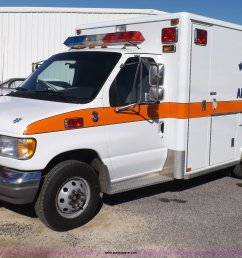 i9244 image for item i9244 1996 ford econoline e350 ambulance [ 2048 x 1400 Pixel ]