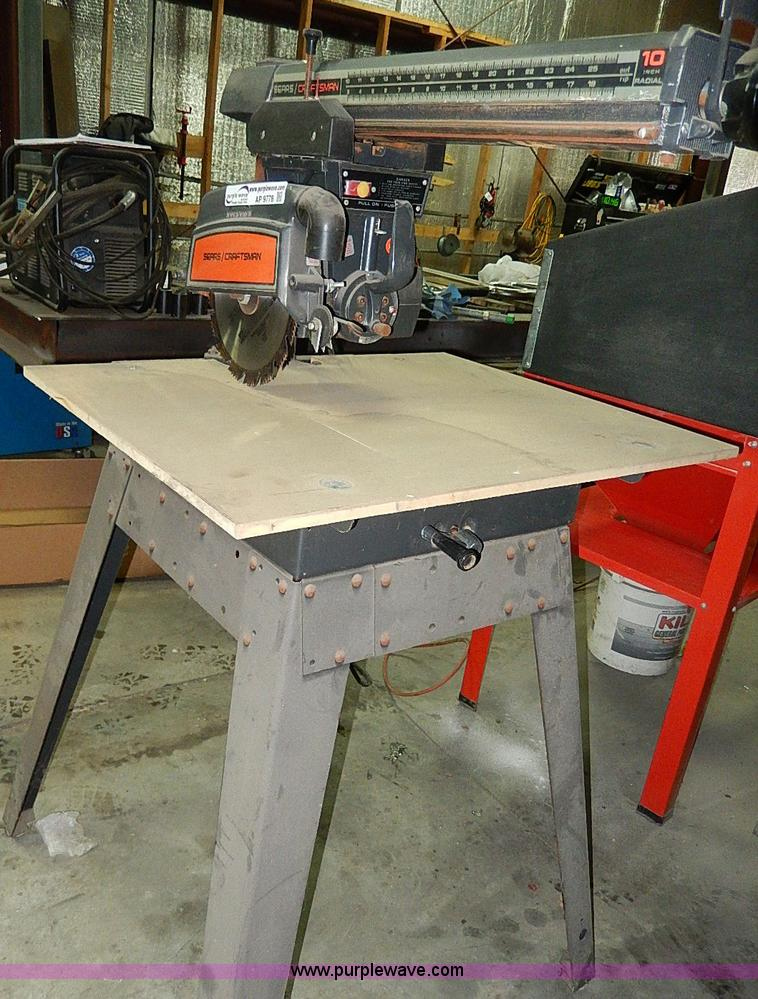 Craftsman 10 Radial Arm Saw Model 113