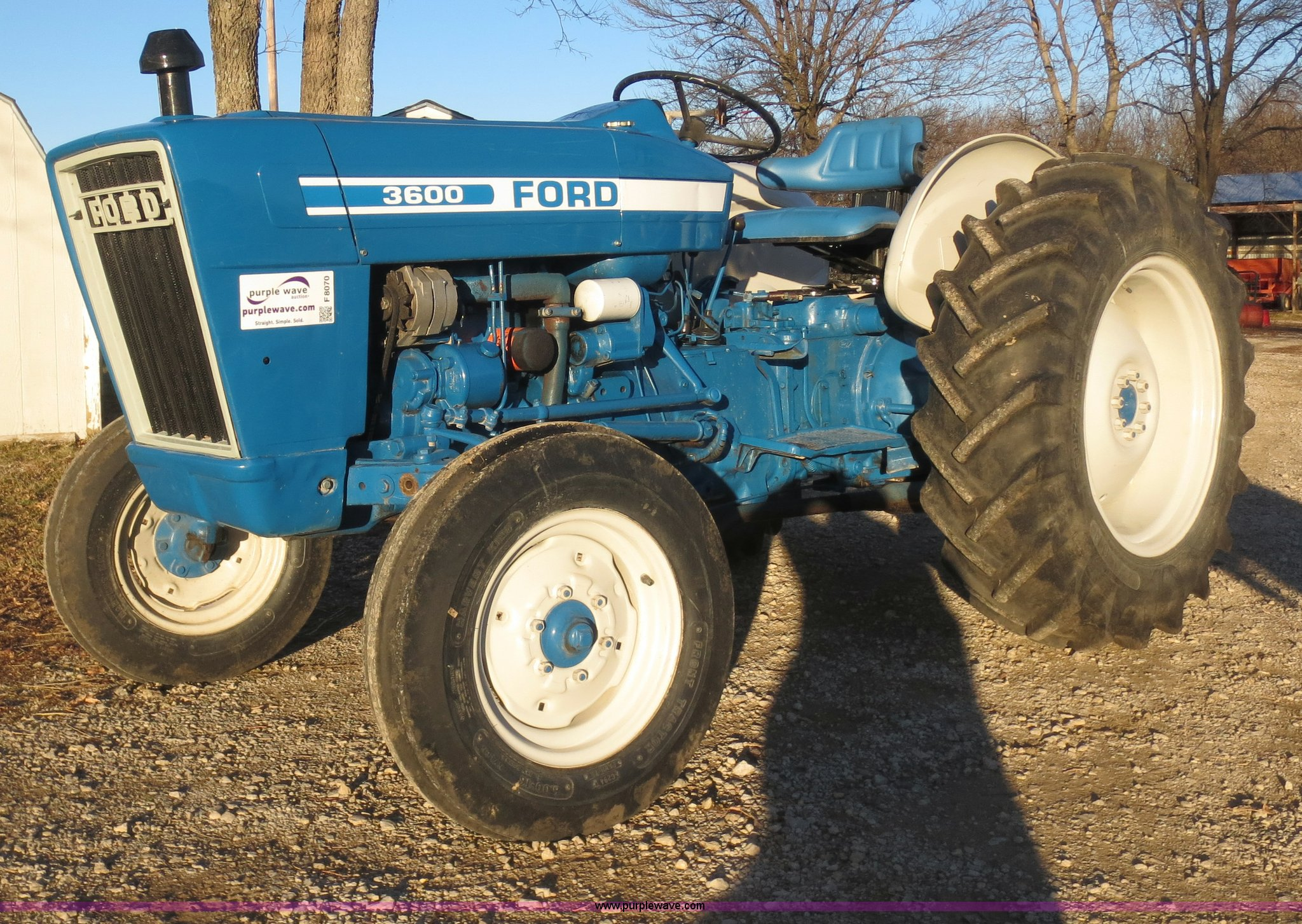 1977 Ford 3600 Tractor In Mound Valley Ks Item F8070 Sold Purple Wave