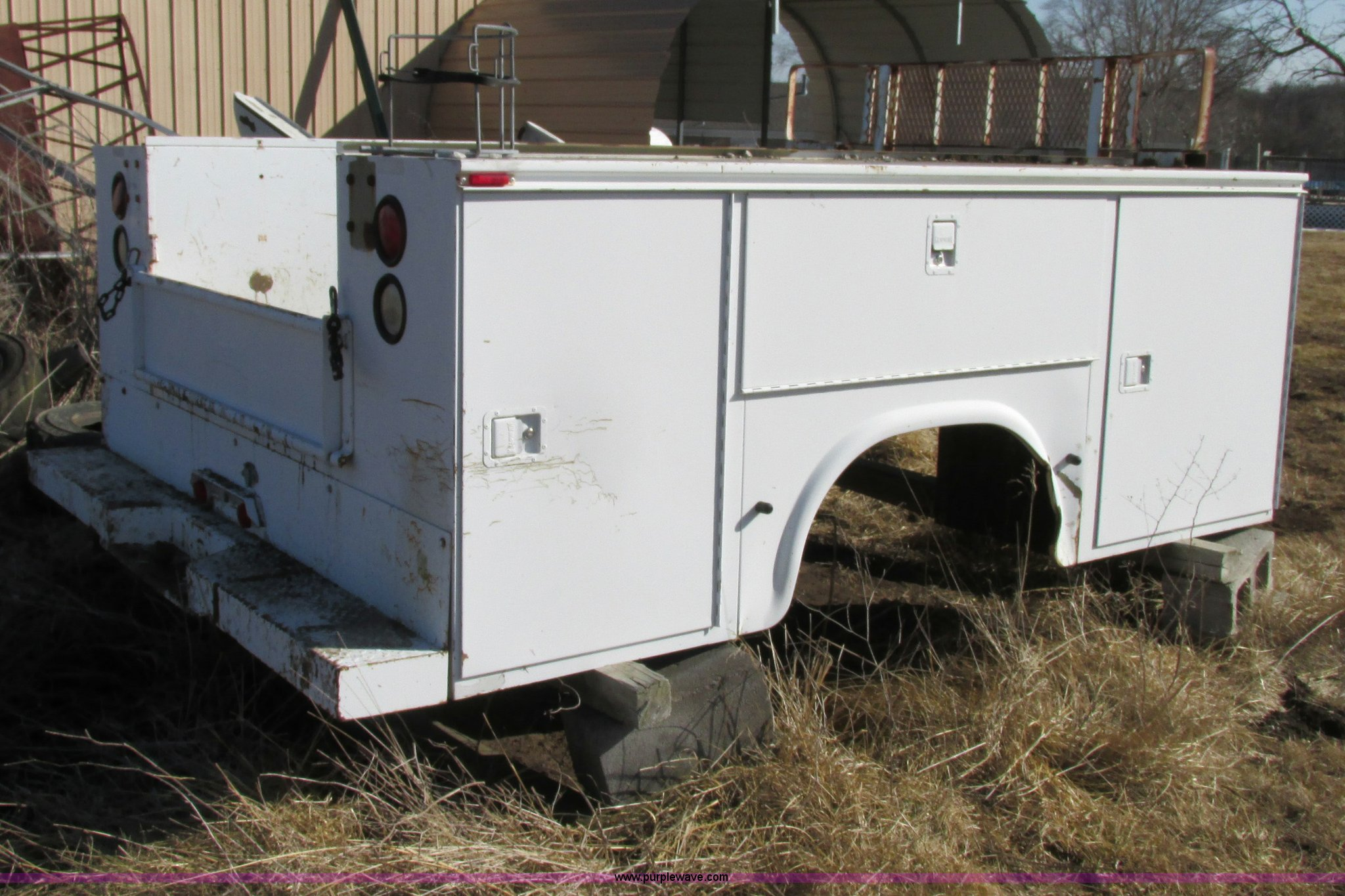 Used Utility Beds For Sale Construction Equipment Auction