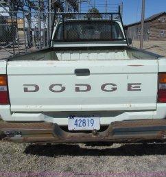 1987 dodge ram 50 pickup truck full size in new window  [ 2048 x 1795 Pixel ]