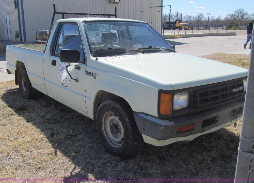 medium resolution of  1987 dodge ram 50 pickup truck full size in new window