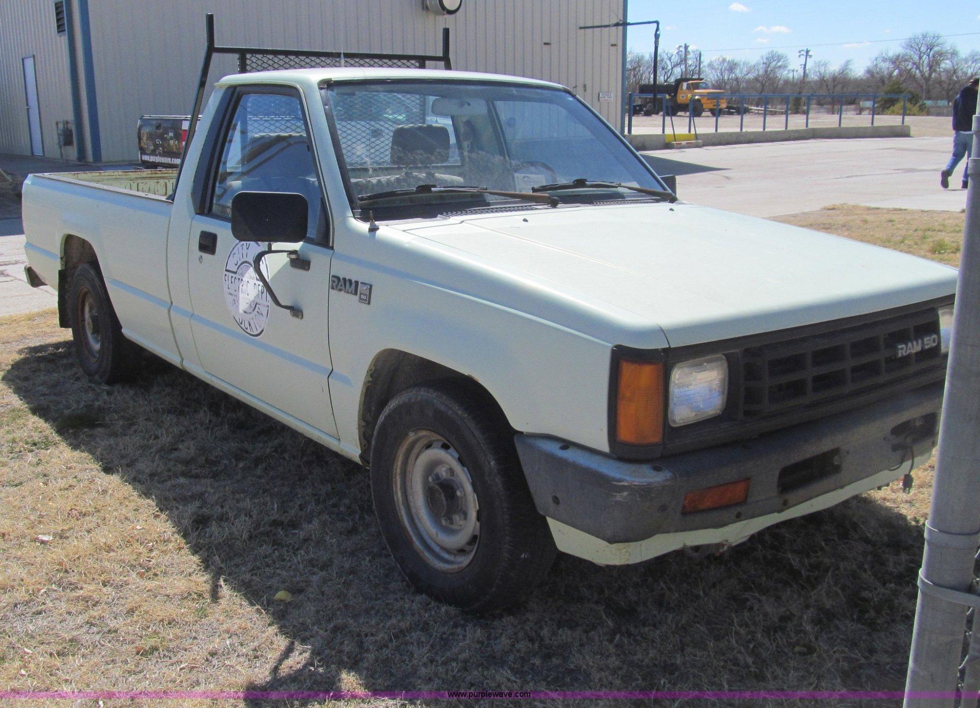 hight resolution of  1987 dodge ram 50 pickup truck full size in new window