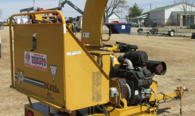 Commercial Wood Chipper Rental   Wooden Thing