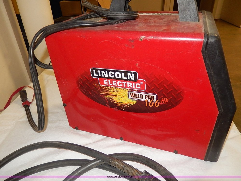medium resolution of  lincoln electric weld pak 100hd full size in new window
