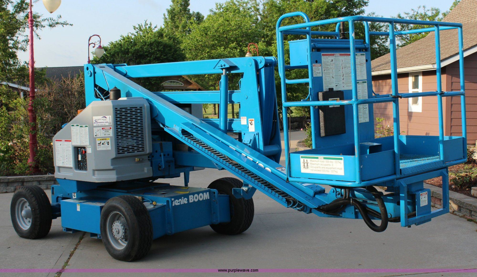 hight resolution of h2699 image for item h2699 1993 genie z45 22 boom lift
