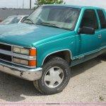 1996 Chevrolet 1500 Z71 Ext Cab Pickup Truck In Emporia Ks Item I7343 Sold Purple Wave