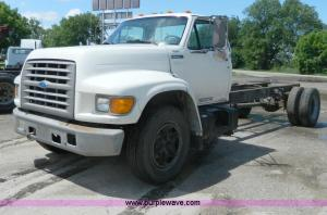 1995 Ford f700 repair manual