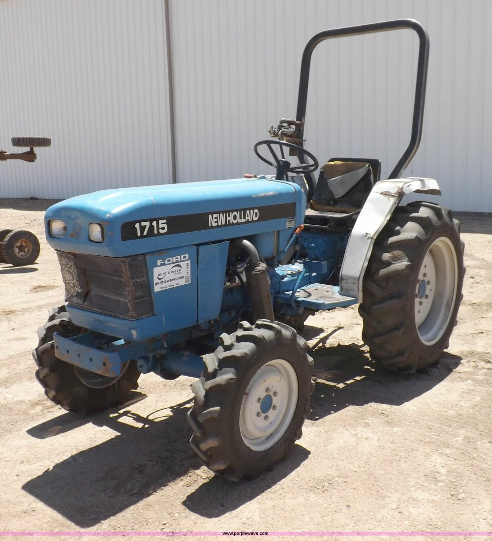 medium resolution of 1996 new holland 1715 mfwd tractor item h1809 sold july ford 3000 wiring diagram