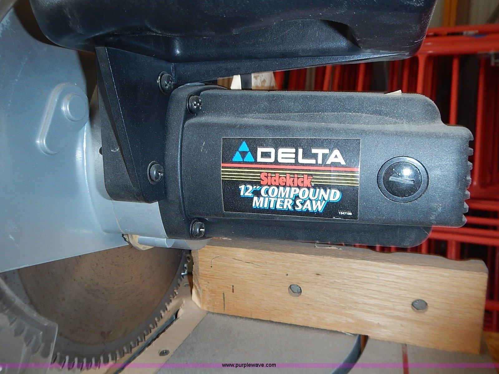 Delta Sidekick 12 Compound Miter Saw 36 235