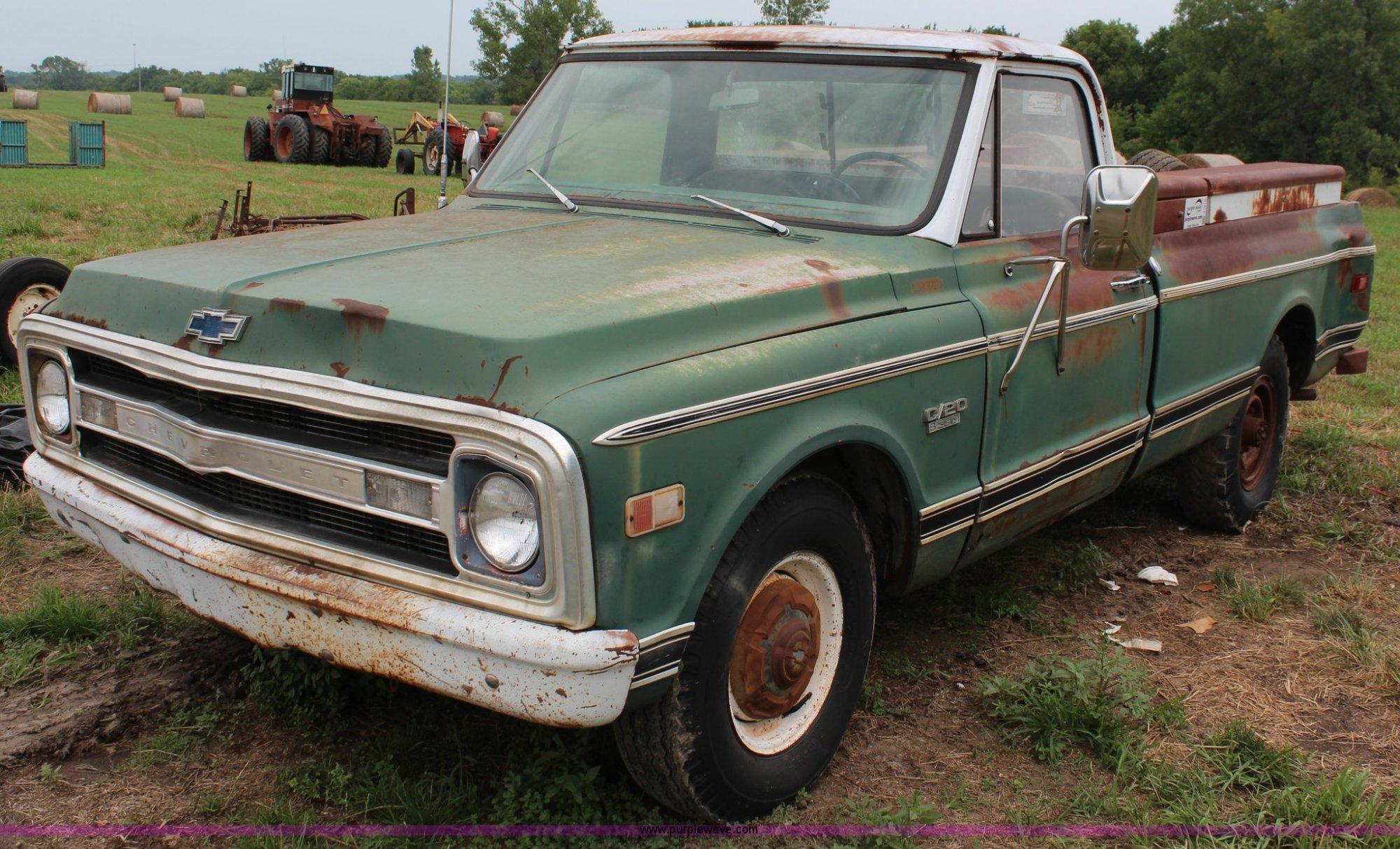 hight resolution of 1969 chevrolet c20 pickup truck for sale in kansas