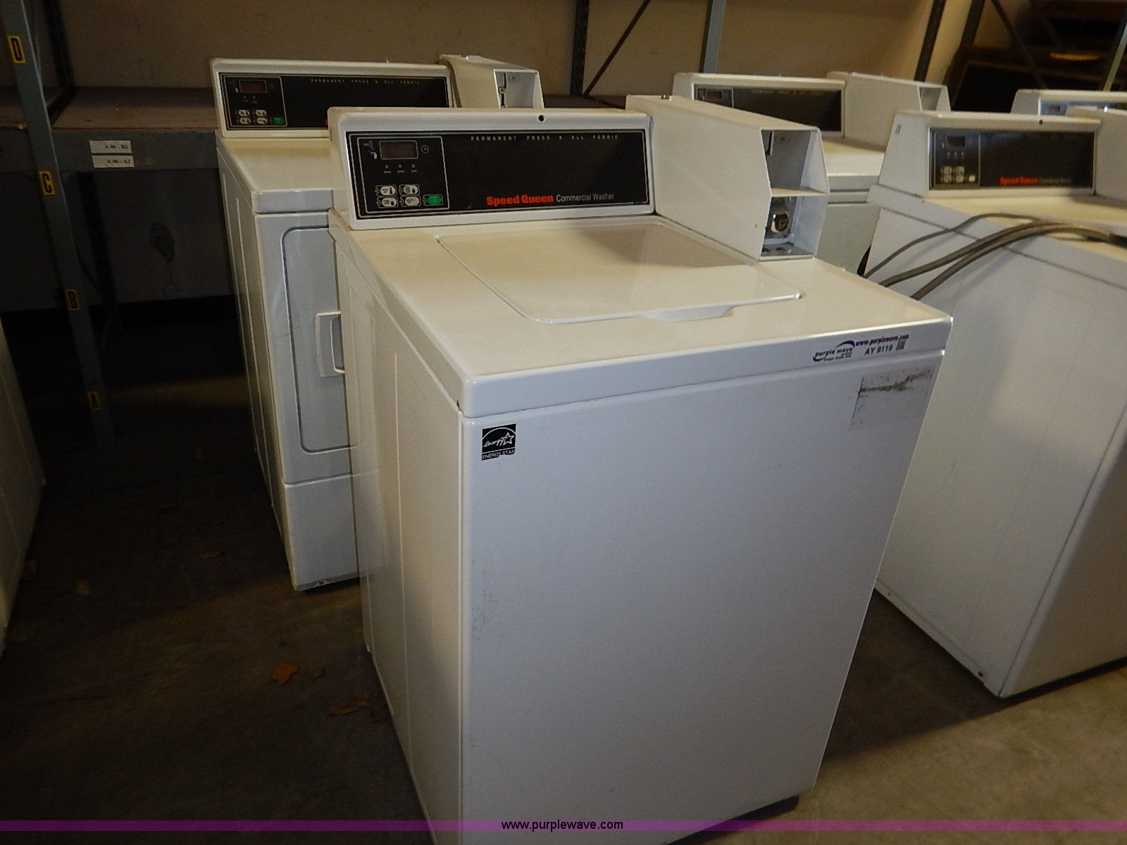 hight resolution of ay9119 image for item ay9119 speed queen coin operated washer and dryer set