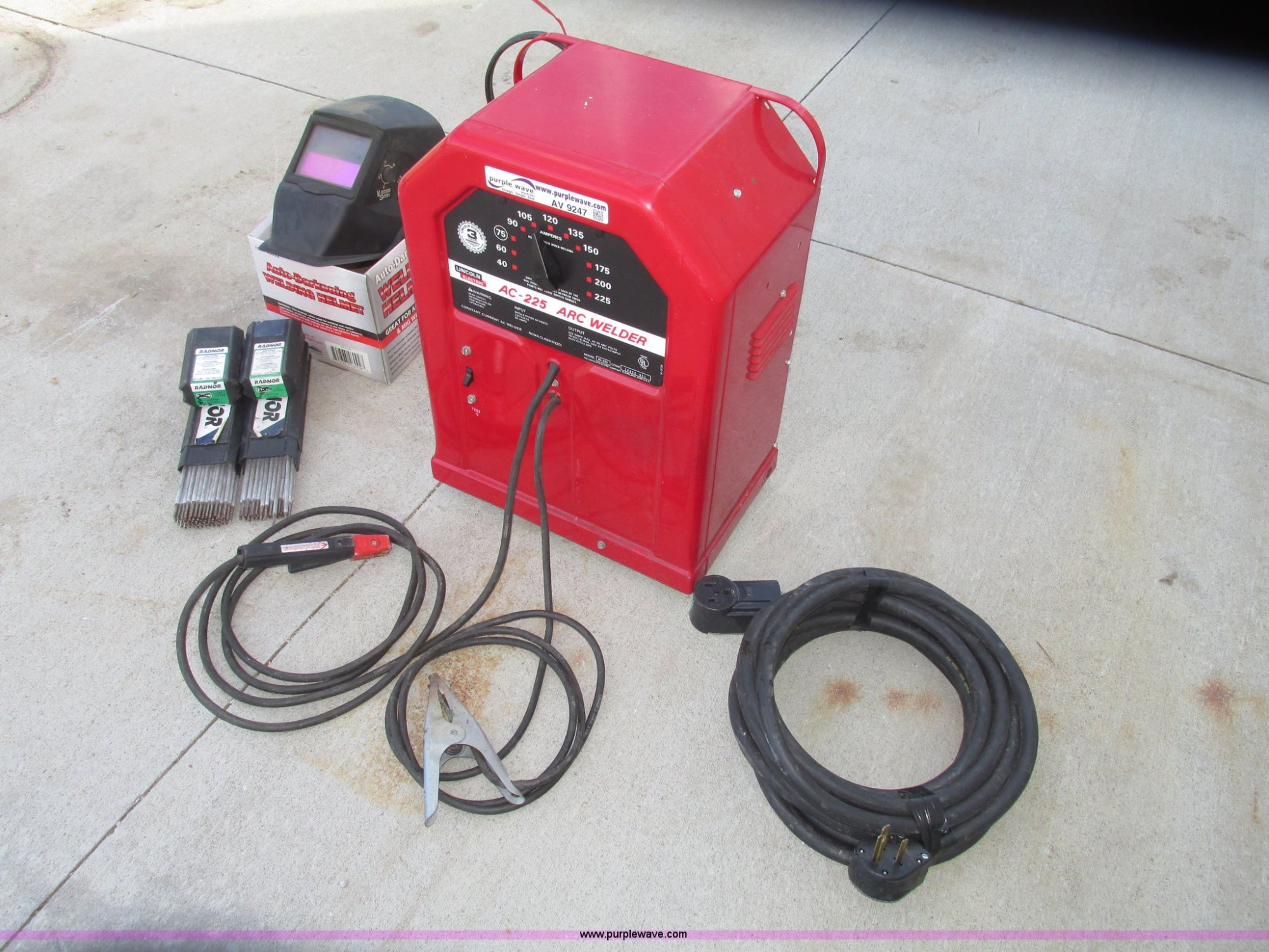 hight resolution of  lincoln electric ac 225 arc welder full size in new window