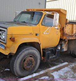 f2161 image for item f2161 1985 gmc topkick 7000 dump truck [ 2048 x 1356 Pixel ]
