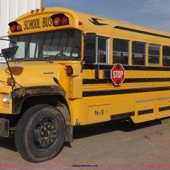1998 Bluebird Bus Wiring Diagram 2007 Toyota Tundra 1996 Chevrolet B7 Blue Bird School Item K3017 Sold