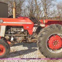 Massey Ferguson 175 Parts Diagram Epiphone Es 335 Pro Wiring 50 Hydraulic Great Installation Of 1974 Row Crop Tractor Item H4736 135 System