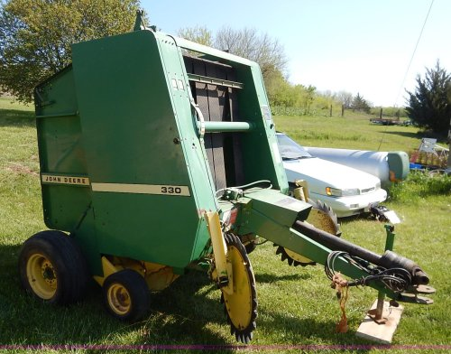 small resolution of  john deere 330 round baler full size in new window
