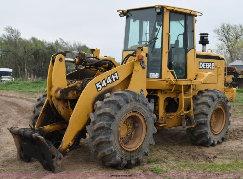 small resolution of 1998 john deere 544h wheel loader item h5130 sold may 2 john deere wiring schematic 544h