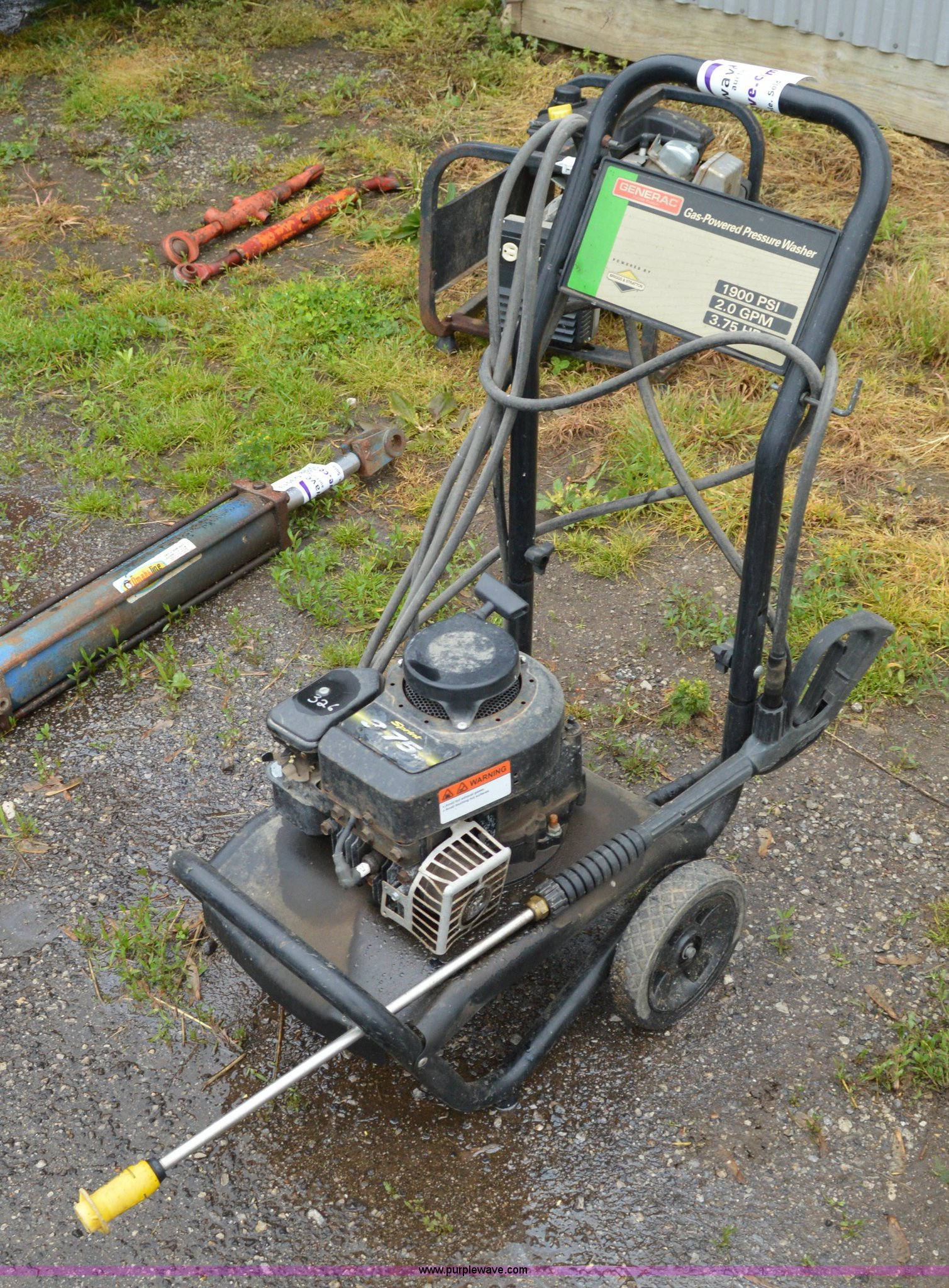 hight resolution of g3510 image for item g3510 generac pressure washer