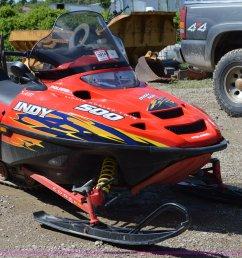 i4530 image for item i4530 2003 polaris indy 500 snowmobile [ 2048 x 1343 Pixel ]