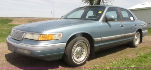 small resolution of h4635 image for item h4635 1994 mercury grand marquis ls