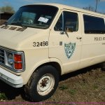 1985 Dodge Ram Wagon B350 Royal Van In Topeka Ks Item J3980 Sold Purple Wave