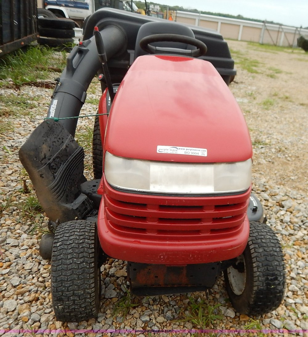 medium resolution of  craftsman gt5000 riding mower with bagger full size in new window
