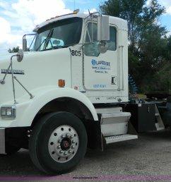 k8144 image for item k8144 2001 kenworth t800 semi truck [ 2048 x 1254 Pixel ]