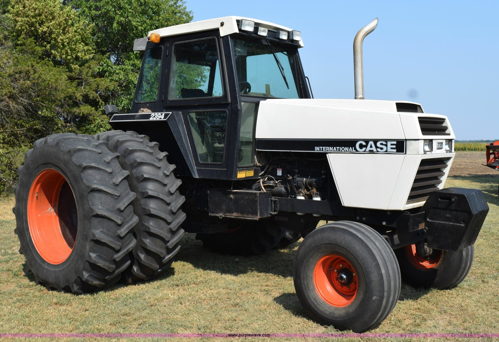 hight resolution of l5819 image for item l5819 1983 case ih 2394 tractor
