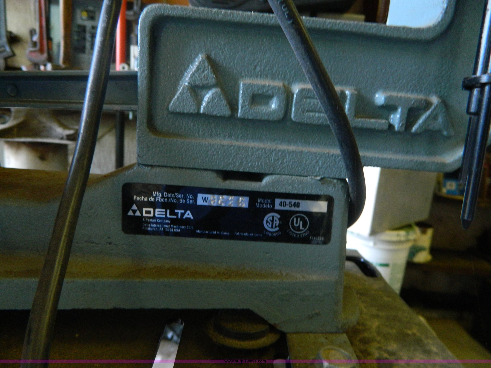 Delta 16 Variable Speed Scroll Saw Model 40 540