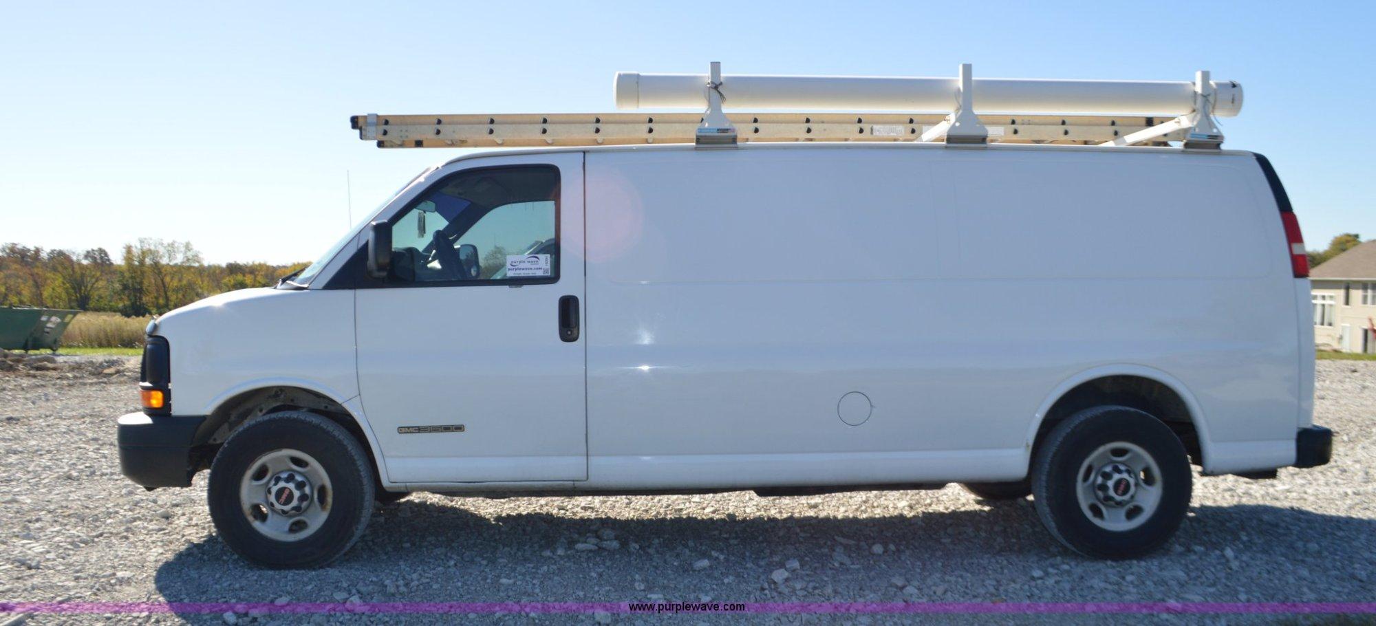 hight resolution of  2006 gmc savana g3500 van full size in new window