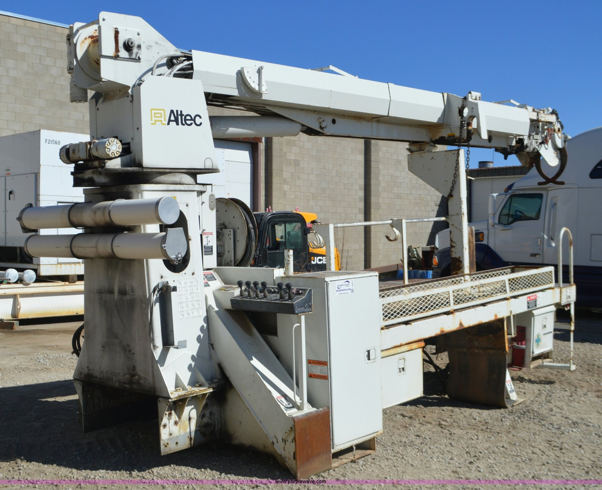 hight resolution of altec d845a digger derrick utility bed for sale in missouri