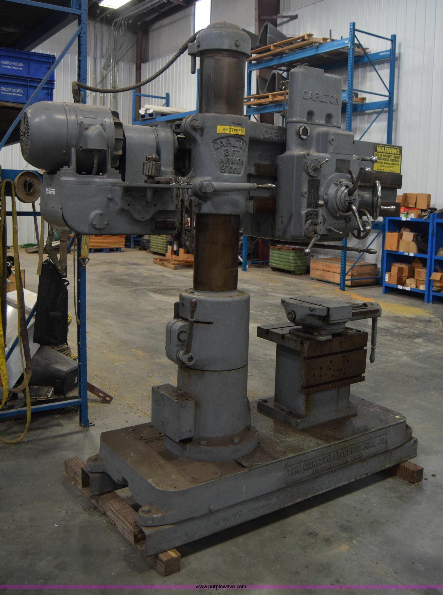 Carlton Radial Arm Drill