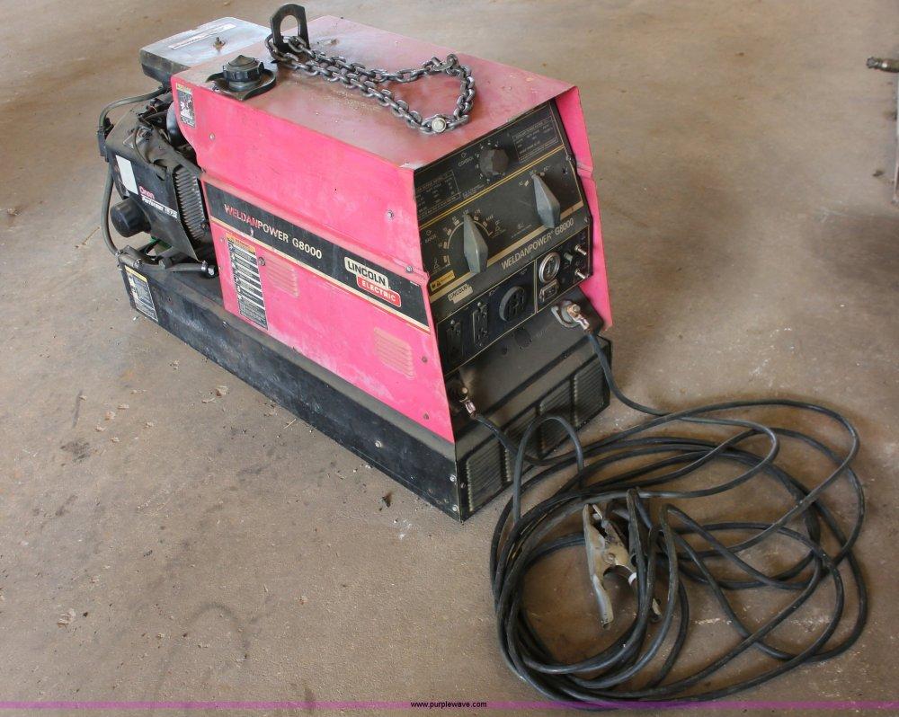 medium resolution of lincoln weldanpower g8000 welder generator item ao9456 s rh purplewave com lincoln g8000 welder generator weldanpower