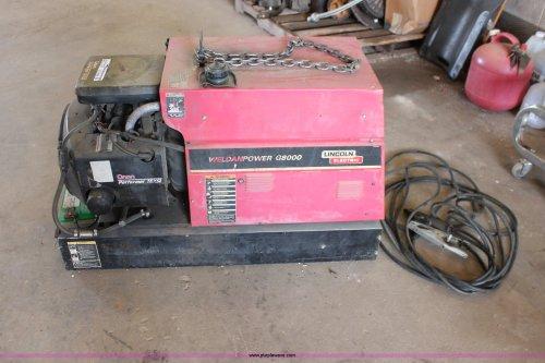 small resolution of lincoln weldanpower g8000 welder generator item ao9456 s lincoln g8000 wiring diagram