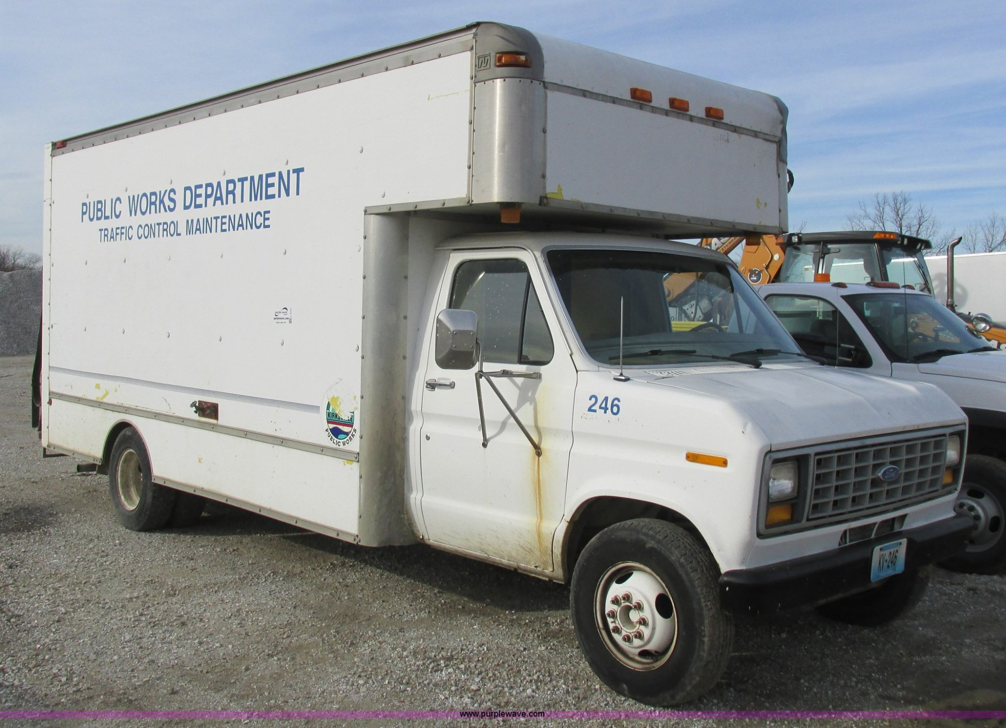 hight resolution of l4147 image for item l4147 1990 ford econoline