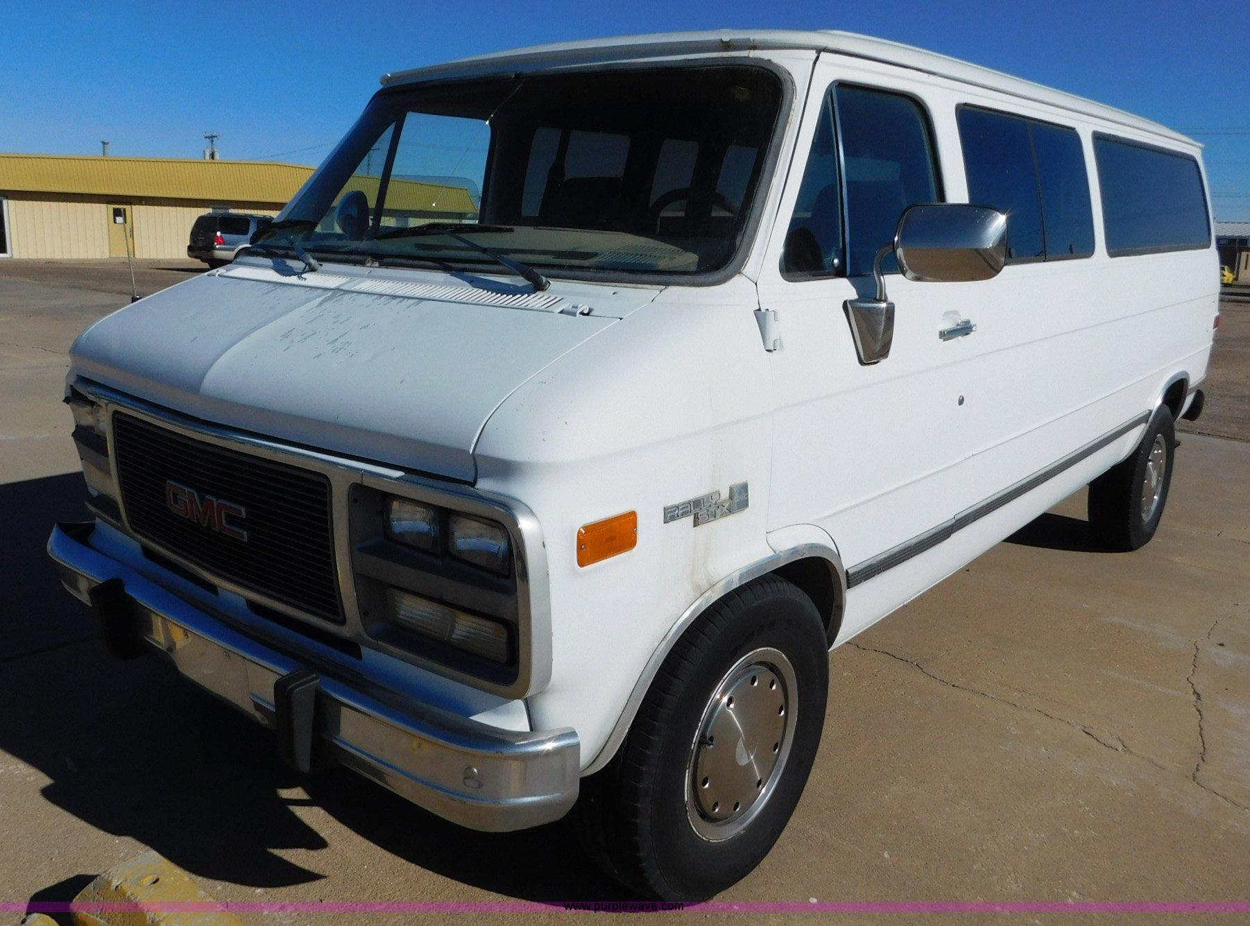 hight resolution of  1992 gmc rally 3500 van full size in new window
