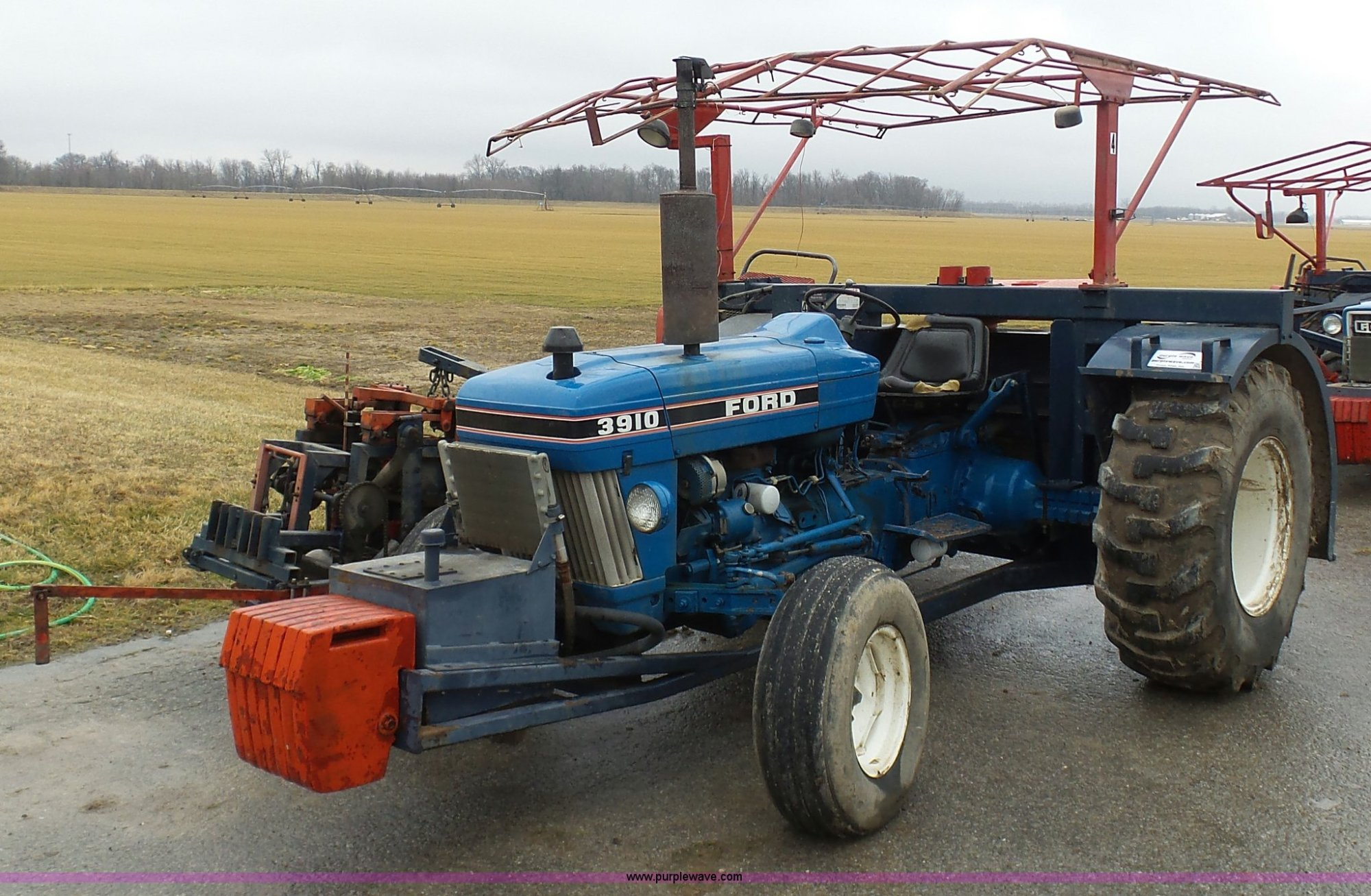 hight resolution of k7664 image for item k7664 ford 3910 tractor