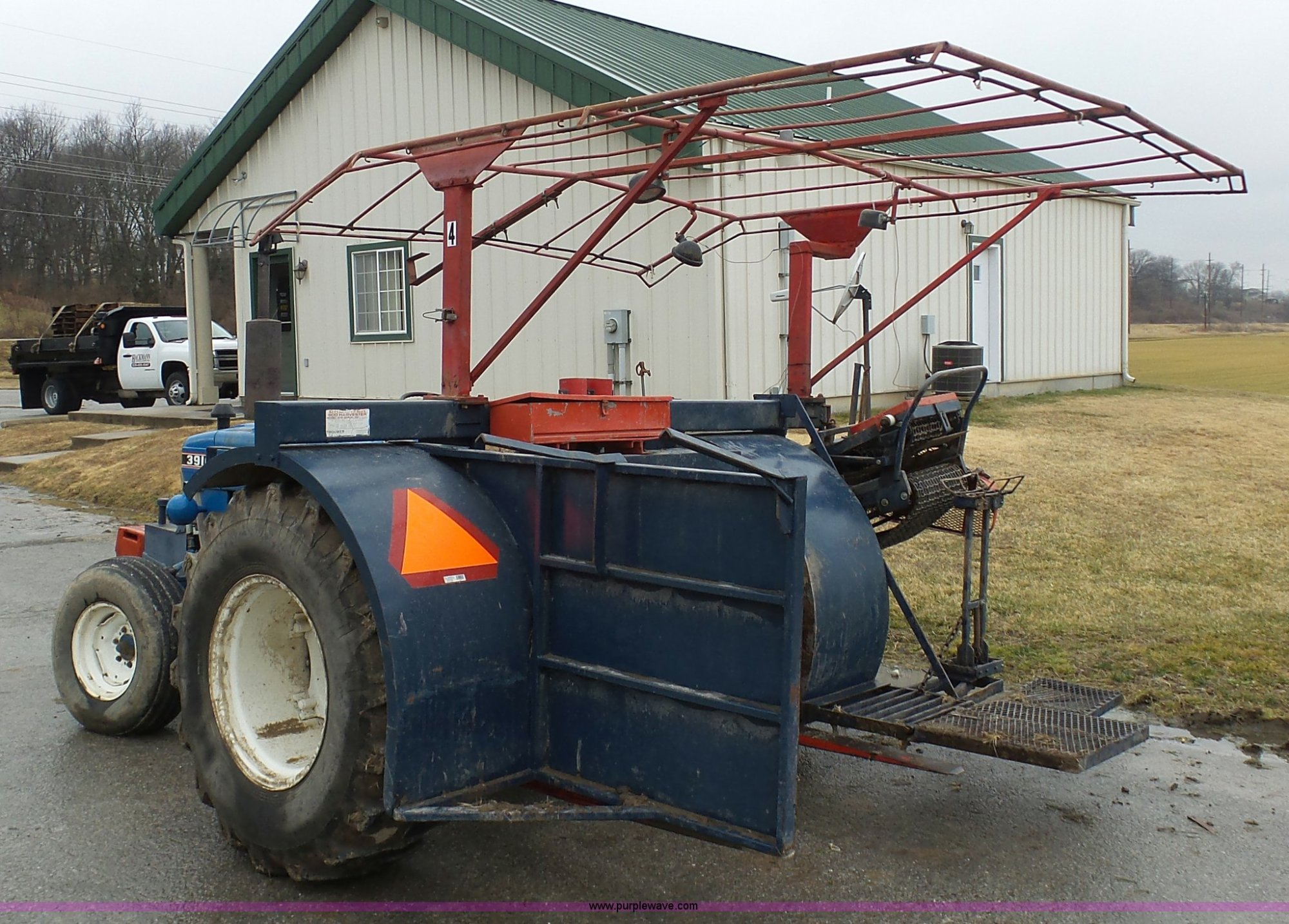 hight resolution of  ford 3910 tractor with brouwer sod harvester full size in new window