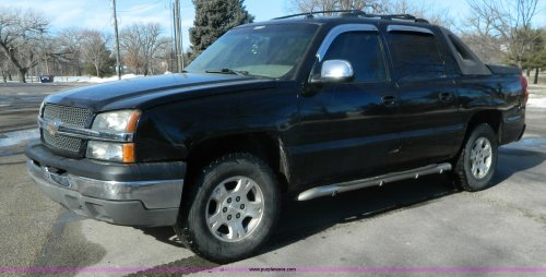 small resolution of l7314 image for item l7314 2004 chevrolet avalanche 1500