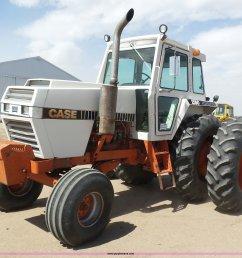 j6176 image for item j6176 1980 case 2590 tractor [ 2048 x 1678 Pixel ]